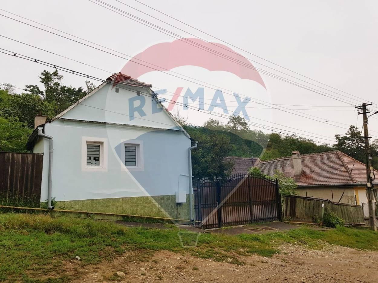 Casă + teren de vanzare in Ocna Sibiului